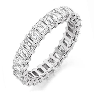 Inel Eternity cu diamante Baghet