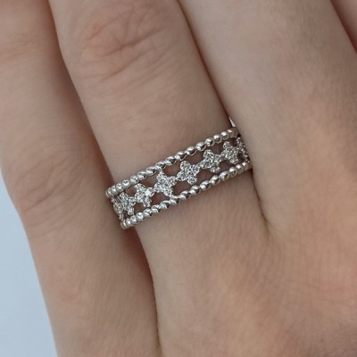 Verigheta Eternity cu diamante